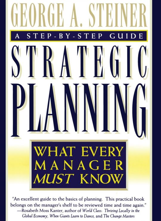 كتاب Strategic Planning BOOK