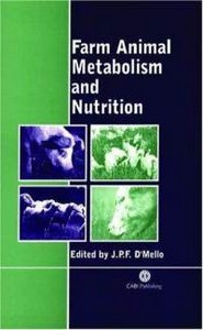 كتاب Farm Animal Metabolism and Nutrition