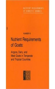 كتاب Nutrient Requirements of Goats