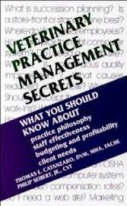 كتاب Veterinary Practice Management Secrets