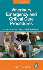كتاب Veterinary emergency and critical care procedures
